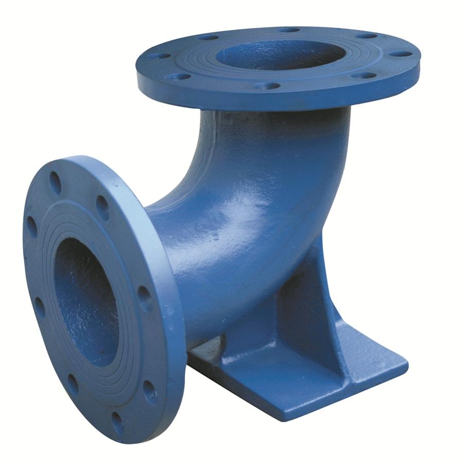 Ductile iron epoxy duckfoot bend 90 - Keulahutte ВЧШГ трубы, фитинги, запорная арматура, гидранты