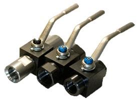 DMIC High Pressure Ball Valve 1 - DMIC запорная арматура, SAE фланцы, манометры, уровнемеры