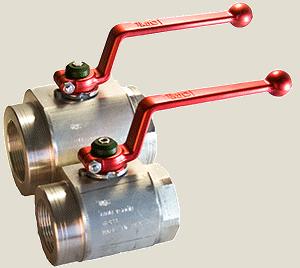 DMIC High Pressure Ball Valve - DMIC запорная арматура, SAE фланцы, манометры, уровнемеры
