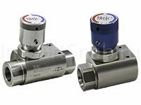 Клапаны-регуляторы потока и игольчатые клапаны NV2AH и FC1AH