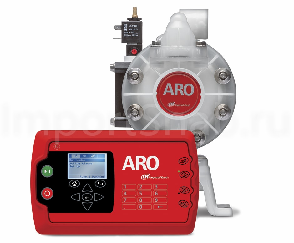 aro controller - Нoвые решения Ingersoll Rand: насос и контроллер ARO