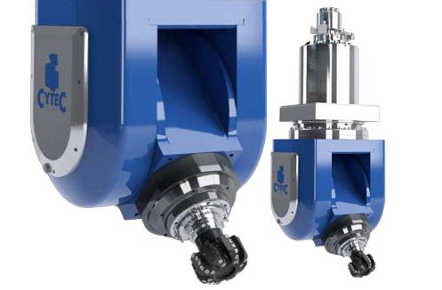 precision machine milling head cytec - CyTec мотор-шпиндели и шпиндельные головки