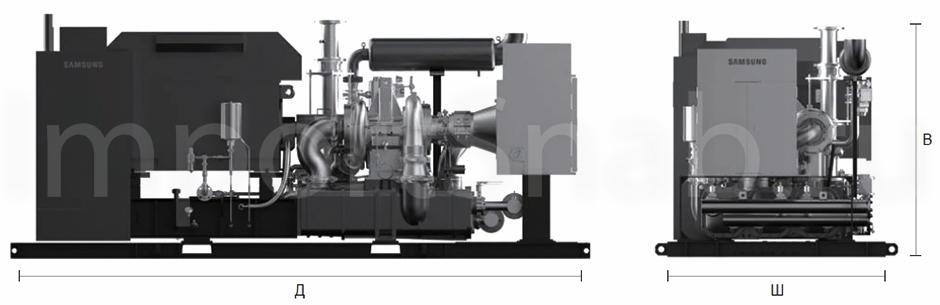 Безмасляные компрессоры Samsung серии SM100