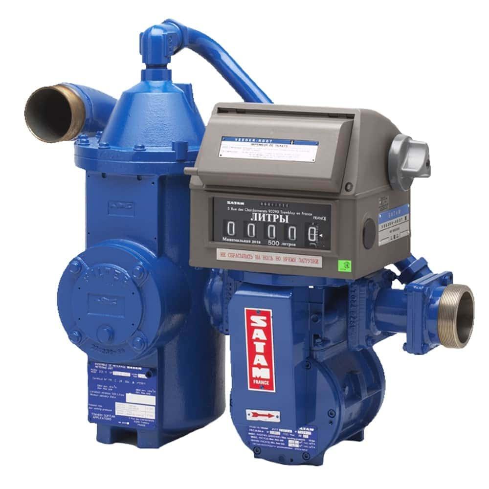 SATAM ZCE11 Flowmeter  - Satam системы учета нефтепродуктов