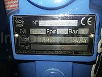 Табличка эксцентрикового винтового насоса PCM
