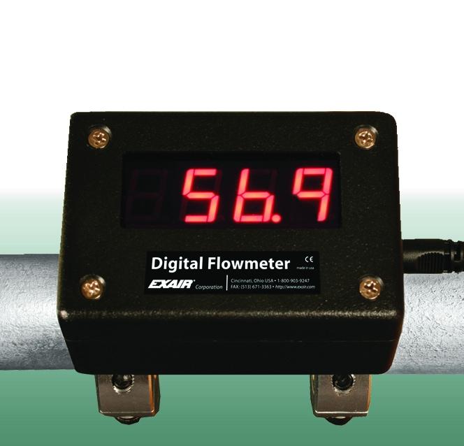 FlowMeter DFMPP - Exair пневматическое промышленное оборудование