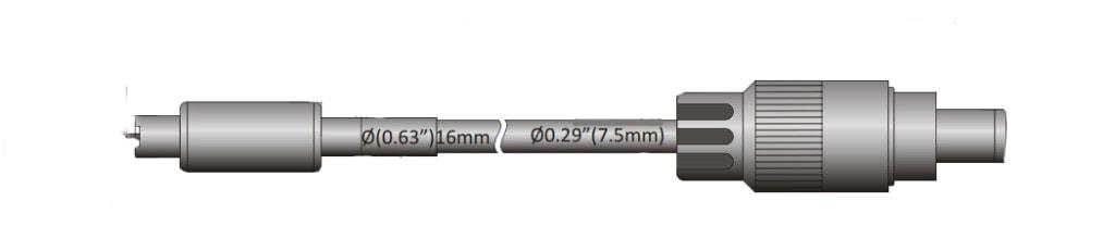 Point Spot Ionizer Dimension opi 1 - Exair пневматическое промышленное оборудование