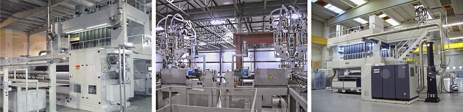 Оборудование для производства спандбонда