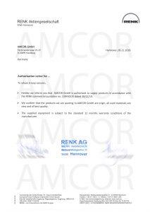 Authorization Letter AMCOR Germany 213x300 - Renk муфты, редукторы