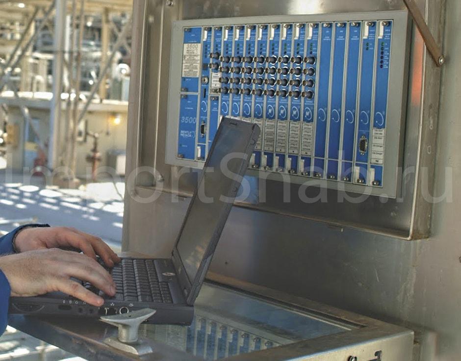 Мониторинг и управление с помощью систем Bently Nevada