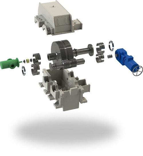 flender engrenages turbo - Flender-Graffenstaden редукторы