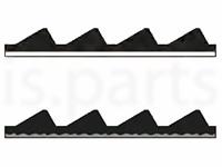 Защитные пластины с зубчатым профилем
