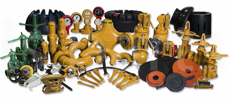 Нефтепромысловое оборудование и принадлежности OTECO
