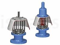 Быстродействущий клапан сброса давления в атмосферу Anderson Greenwood 4130
