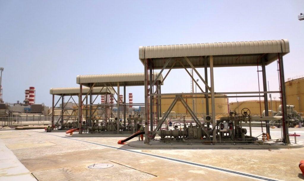 Loading unloading section 1024x612 - Petrogas решения для подготовки газа и жидкого топлива
