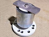 Крепежная пластина с сайлентблоком KS 84-110-110 J. Engelsmann AG