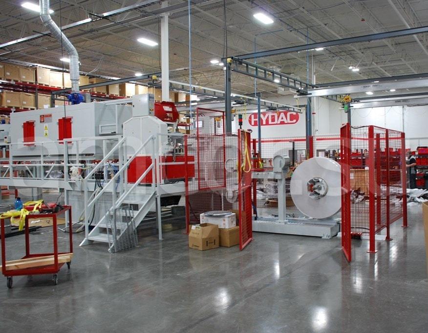 HYDAC Expansion Interior - Hydac – партнер компании Amcor.GmbH