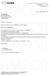 Amcor 201201 201x300 - AMCOR – авторизованный партнер SUEZ