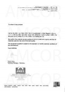 Eriez 18559 1 212x300 - AMCOR – авторизованный партнер ERIEZ