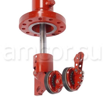 Механизм для перекрытия сечения трубопроводов STOPPLE