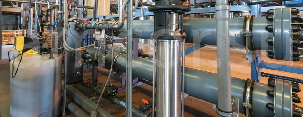Мембранные осушители для технологического газа
