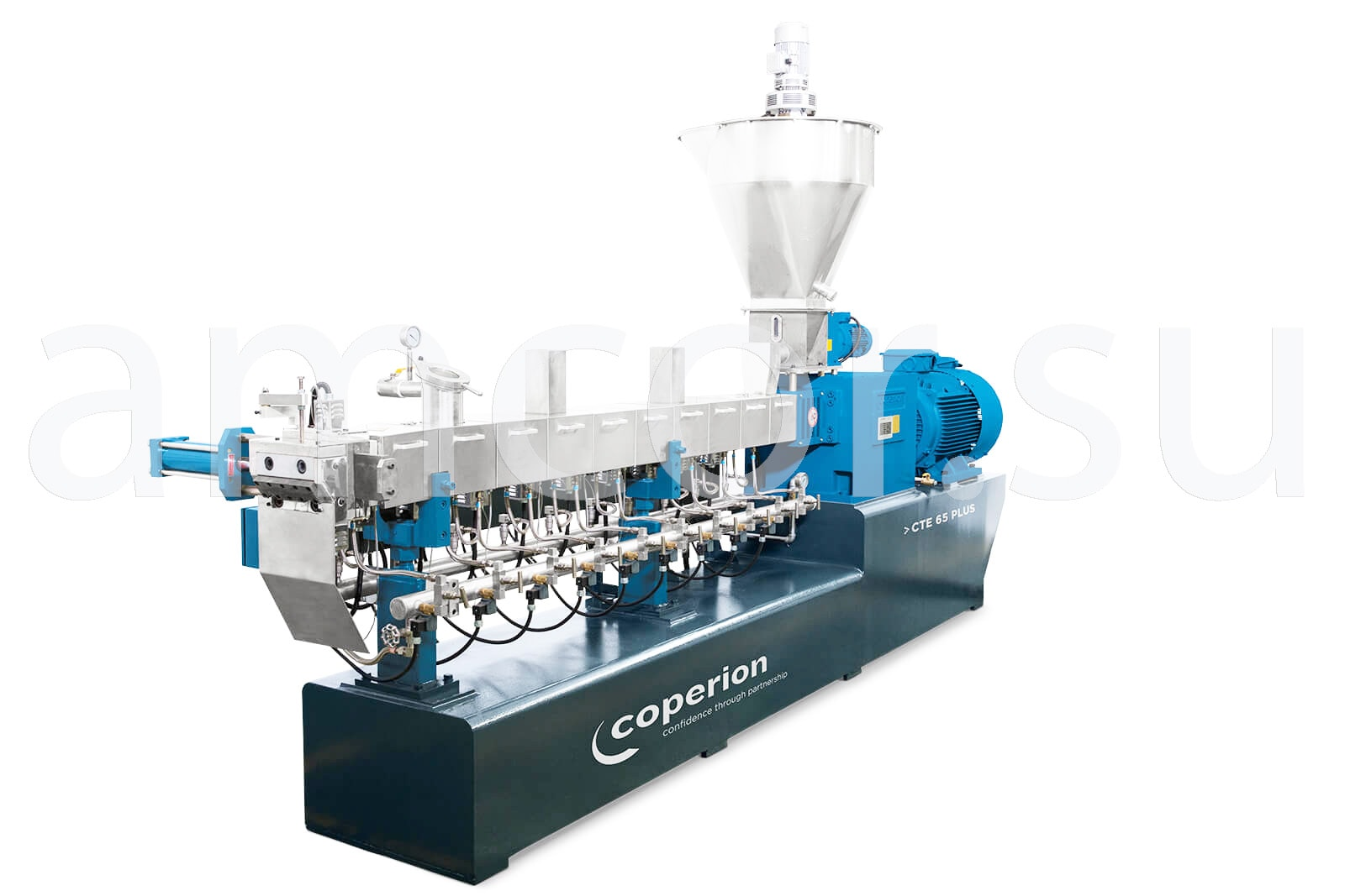 Заказать сервис и поставку экструдеров CTE PLUS Coperion в России и СНГ от официального производителя.