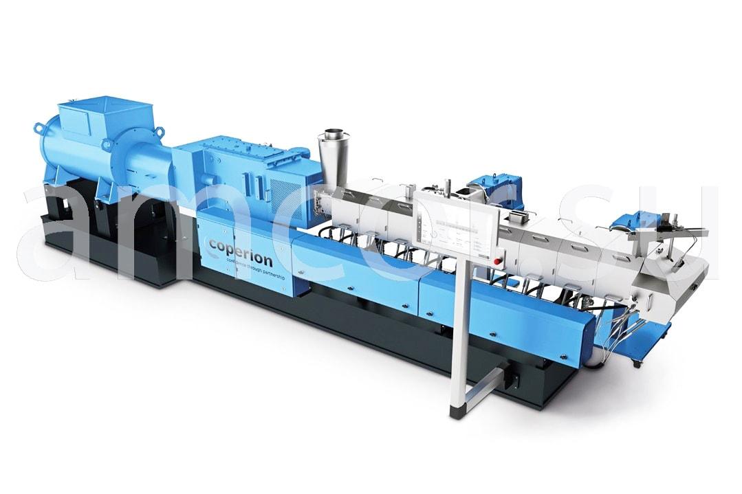 Заказать сервис и поставку двухшнековых экструдеров ZSK Mc18 Coperion в России и СНГ от официального производителя.