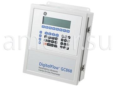 Заказать поставку и сервис расходомера газа Digitalflow GC 868 Panametrics в России и СНГ от официального производителя.