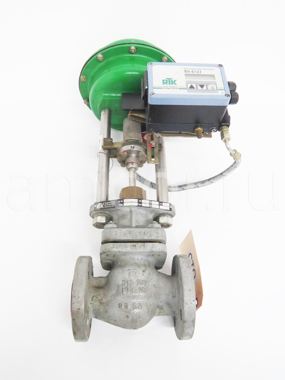 PV 6211 - RTK клапаны, регуляторы, датчики